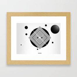 Interlink'in Framed Art Print