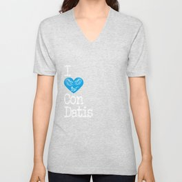 I Heart Condatis | Love the god of river wear and healing Unisex V-Neck