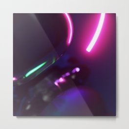 Blinker redlight Metal Print