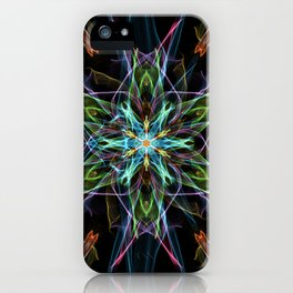 Electric Star iPhone Case