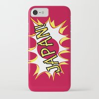 japan iPhone & iPod Cases featuring Japan by mailboxdisco