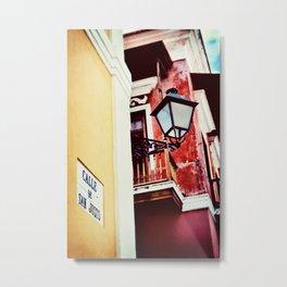 Calle de San Justo Metal Print