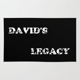David's Legacy Scattered Leaves (Inverted) Rug