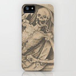 Memento Mori, 15th century iPhone Case