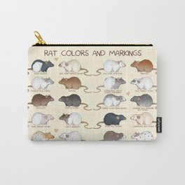 Rat colors and markings Carry-All Pouch