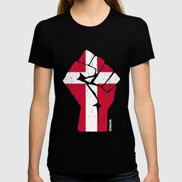 Team Denmark Flag T-Shirt T-shirt