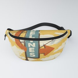THE DELINES - Official Merch Poster Fanny Pack