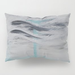 """Wind And Water"" Painting1of 2 - Elements Series Pillow Sham"