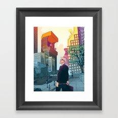 Gamification Framed Art Print