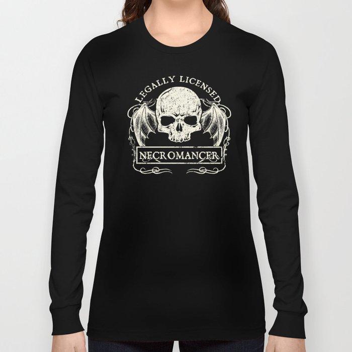 Legally Licensed Necromancer Long Sleeve T-shirt