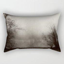 dare to dream Rectangular Pillow