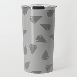 ARROWHEADS-SILVER Travel Mug