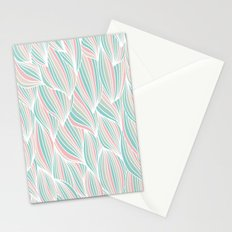 Cool Colorful Ocean Waves Stationery Cards