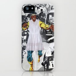 Inauguration Run - Vintage Collage iPhone Case