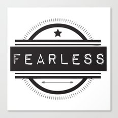 #Fearless Canvas Print