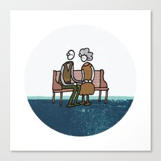 Companionship in the Park Canvas Print