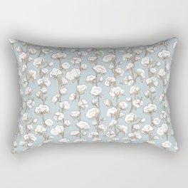 Farmhouse Cotton Stalk Stripe Rectangular Pillow