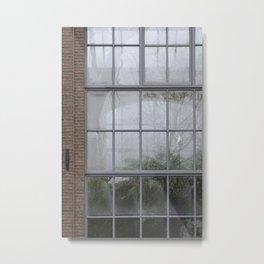 GLASS HOUSE Metal Print