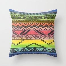 Tribal #3 Throw Pillow