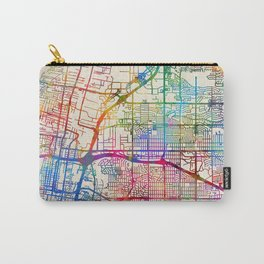 Albuquerque New Mexico City Street Map Carry-All Pouch