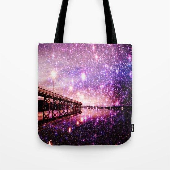 Enchanting Bridge Over Mystic Waters Tote Bag