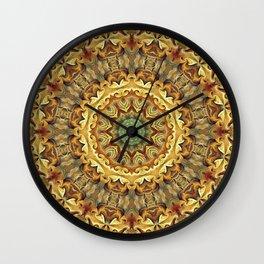 Flower Of Life Mandala (Shambhala) Wall Clock