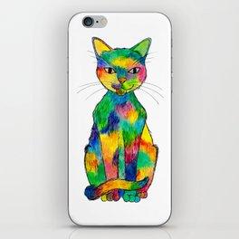 Rainbow Cat iPhone Skin