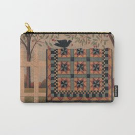Cherries and Pinwheels Carry-All Pouch