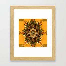 Mother Nature's compass.... Framed Art Print