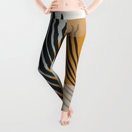Abstract Shapes 33 Leggings