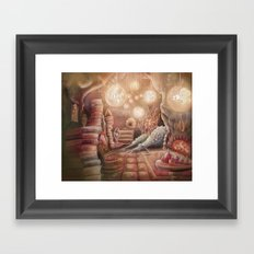 The Witch's Lair Framed Art Print