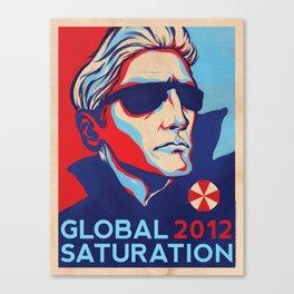 GLOBAL SATURATION 2012 Canvas Print