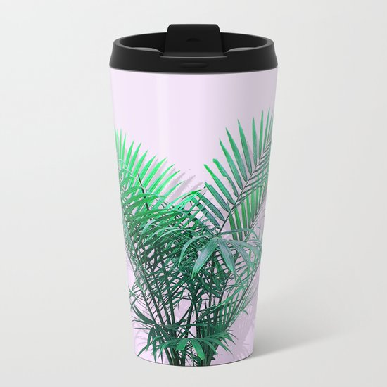 Palms on Musk Metal Travel Mug
