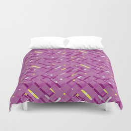 Urban purple Duvet Cover