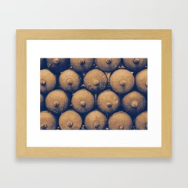 Gas bottles Framed Art Print