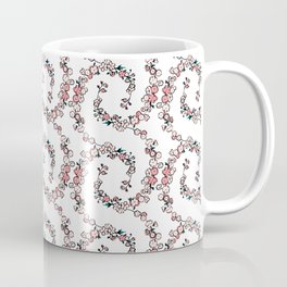 tiny spring flowers ditsy floral pattern Coffee Mug