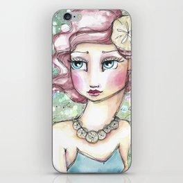 Twin Mermaids with Sand Dollars iPhone Skin