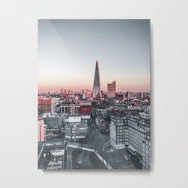 Morning glory - London Metal Print