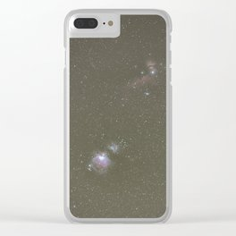 Orion objects Clear iPhone Case