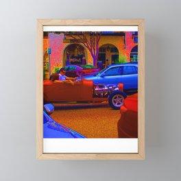 ROADSTER Framed Mini Art Print