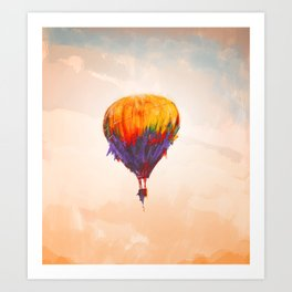 Globum Art Print