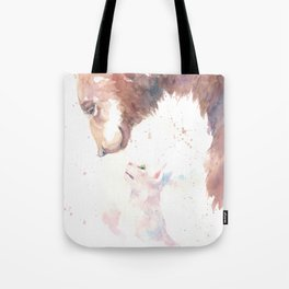 The bear, the cat and the tree of truth Tote Bag