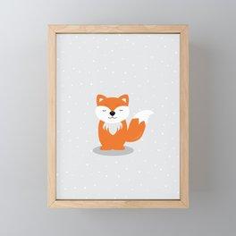 Franky Fox Framed Mini Art Print