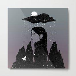 If My Dark Cloud Were Full of Stars (I'd Let It Hang Over Me) Metal Print
