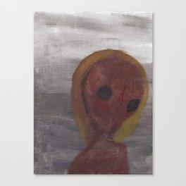 Shrew in the Fog Canvas Print