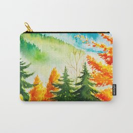 Autumn scenery #6 Carry-All Pouch