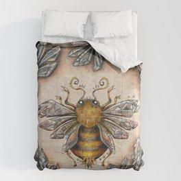 Crystal bumblebee Comforters