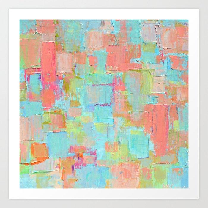Coral Coterie Art Print