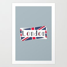 Home, Love, Illustration, Heart, london  Art Print