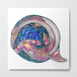 Hammer fish Metal Print